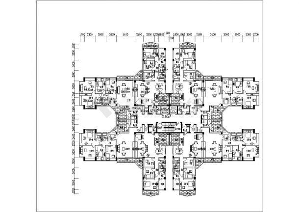 高层欧式住宅建筑设计方案图-图二