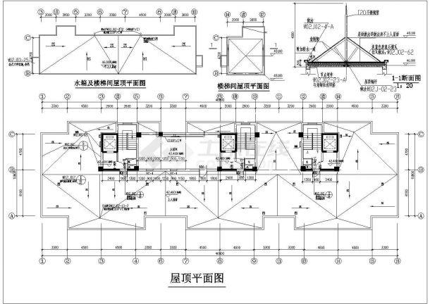 高层商品房建筑设计方案图-图一