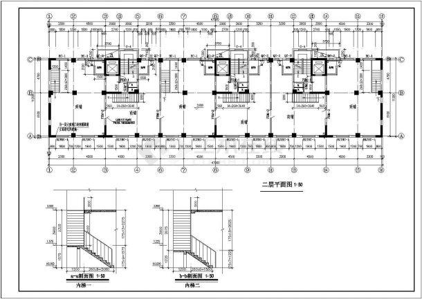 高层商品房建筑设计方案图-图二