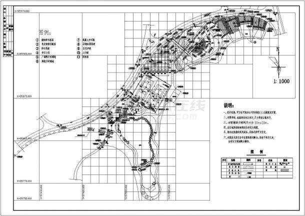 大型公园设计全套景观设计图纸-图二