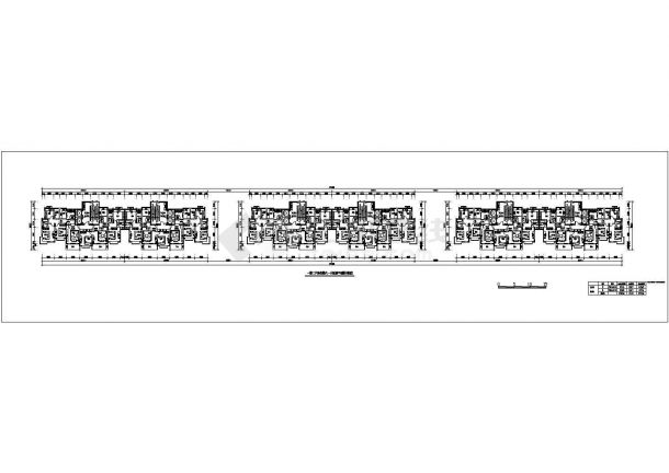 【苏州】精品高层住宅楼全套施工设计cad平面图-图二