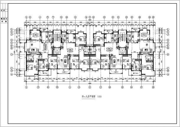 花溪畔居小高层建筑设计方案图-图一