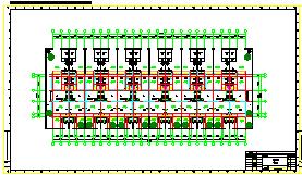 特色农家院CAD建筑规划设计图纸-图二