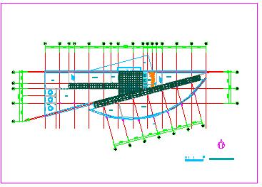 详细高档某宾馆CAD建筑设计方案图纸-图一
