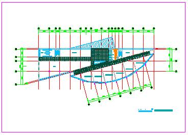 详细高档某宾馆CAD建筑设计方案图纸-图二