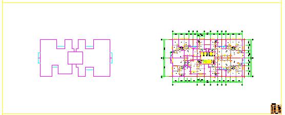 一梯5户型户全套CAD装修设计平面图纸-图二