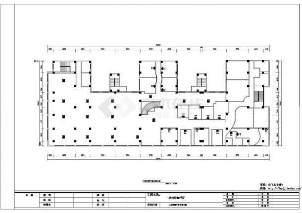连云港咖啡厅装修施工设计图纸(设计说明 平面布置 顶面布置 空调布置 平面尺寸 火灾自动报警系统 水喷淋自动灭火系统)-图二