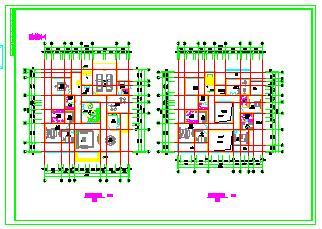 十几套别墅建筑设计施工详图-图一