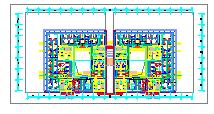 [江苏]高层教育办公建筑空调通风防排烟系统设计施工图纸(机房设计)-图二