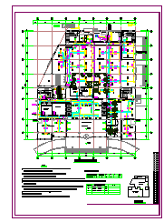 [山东]高层办公楼空调通风及防排烟系统设计施工图纸(大院出品采暖设计)-图二