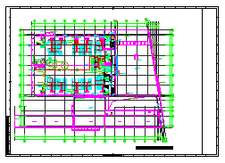 [上海]多层办公建筑空调通风及防排烟系统设计施工图纸(大院出品人防设计)-图二