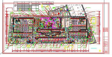 [上海]知名超高层大厦空调通风全套设计施工图纸178张(知名设计院)-图二
