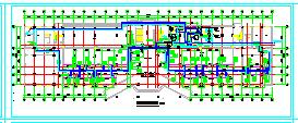 高层行政办公楼暖通空调及防排烟系统设计施工图纸(含动力工程)-图一