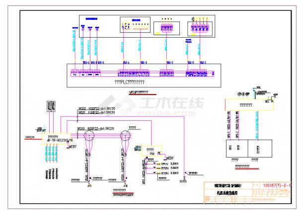 某地某加气站项目全套电气设计安装施工图纸-图一
