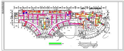 医院住院楼中央空调系统cad设计图-图一