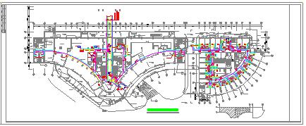 医院住院楼中央空调系统cad设计图-图二