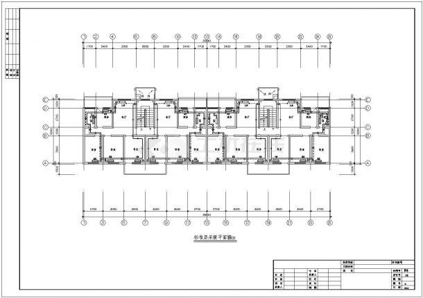 某住宅楼采暖设计施工CAD图纸-图一