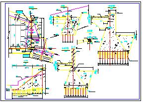 制冷机房cad施工设计图-图一