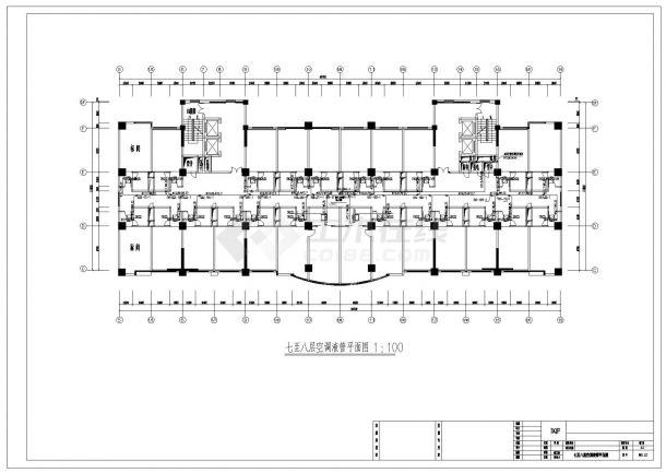 某大酒店VRV系统设计施工CAD图纸-图二