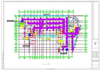 某住宅楼暖通空调cad施工设计图-图一