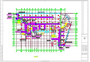 某住宅楼暖通空调cad施工设计图-图二
