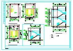 三层仿古建筑建筑设计施工图-图一