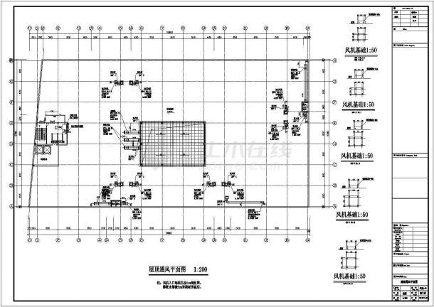 北京某建材城暖通空调设计施工图纸(设计说明)-图二