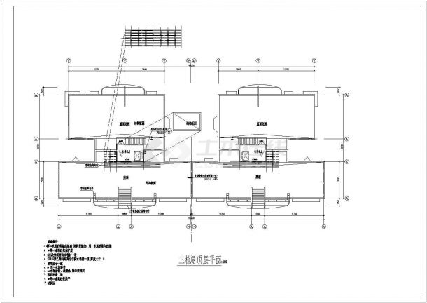 某商业住宅楼建筑设计施工图-图二