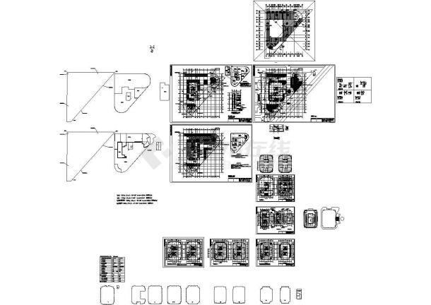 西子联合大厦办公楼暖通设计图纸-图一