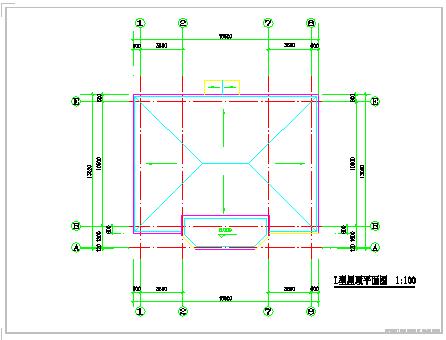 创业农庄L型别墅建筑cad设计图纸-图一