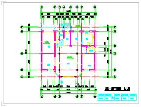 创业农庄L型别墅建筑cad设计图纸-图二