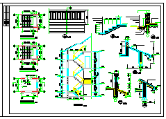 春天花园别墅建筑结构cad设计图纸-图一