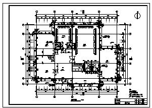 别墅设计_某三层框架结构别墅结构施工cad图,含阁楼设计图-图二