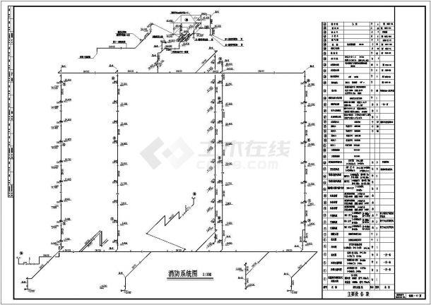 办公楼溴化锂空调设计施工图纸-图二