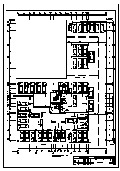 某市十八层带地下室小区商住楼电气施工cad图(含照明,弱电,消防设计)-图二
