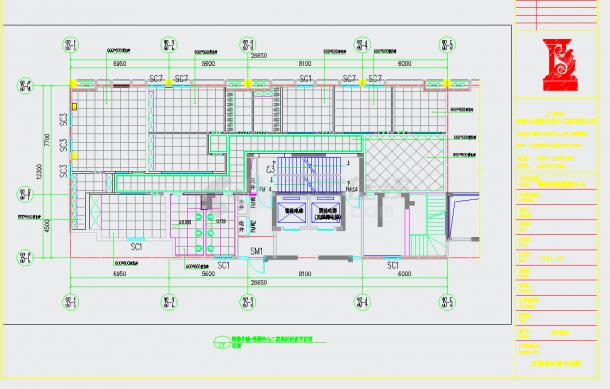某地高端住宅小区售楼中心设计含效果图CAD施工图纸-图二