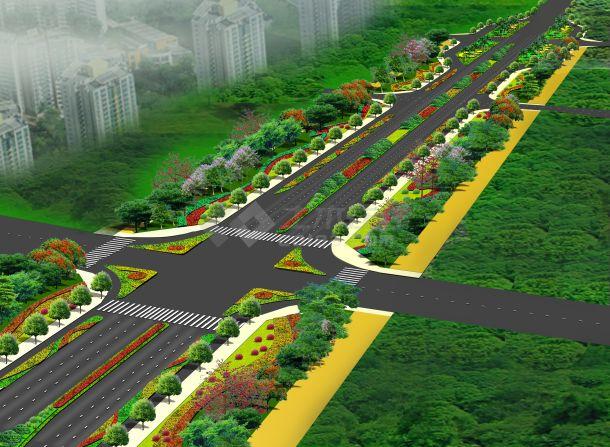 道路绿化-图一