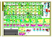 某框架结构高层住宅楼结构设计cad施工全套图纸-图一