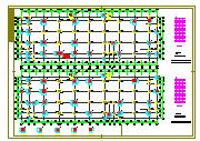 某框架结构高层住宅楼结构设计cad施工全套图纸-图二
