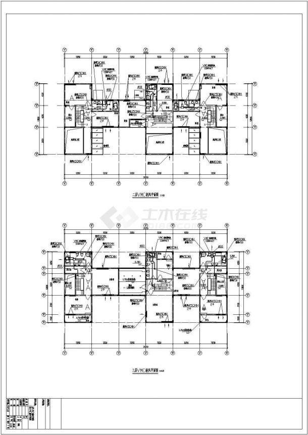 别墅多联空调设计方案图纸-图二