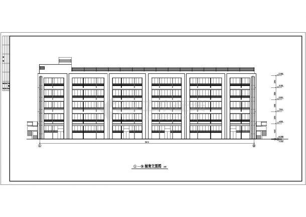 某工厂宿舍全套建筑设计施工图-图二