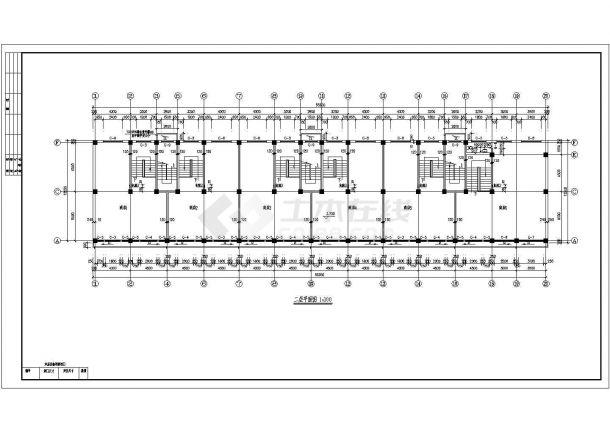 底商住宅楼全套建筑设计方案图-图二