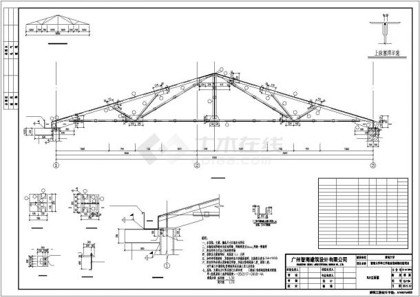某大学食堂维修改造项目设计施工CAD图纸-图一
