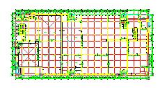 2层40560平米钢筋混凝土结构食品加工生产车间建筑设计施工图-图一