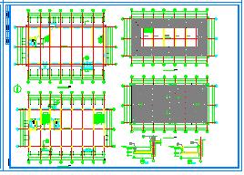 2层710.7平米橡胶厂房建筑设计施工图纸-图一