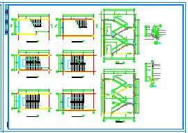 2层710.7平米橡胶厂房建筑设计施工图纸-图二