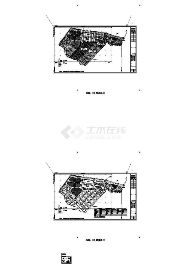 遵义市某大型物流交易市场总平面规划设计CAD图纸-图一