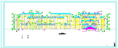 君领世纪-叠加型别墅建筑设计cad施工图纸-图一