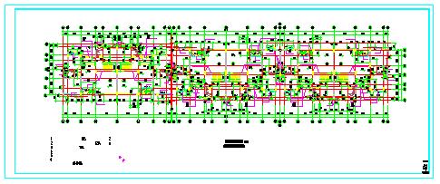 君领世纪-叠加型别墅建筑设计cad施工图纸-图二