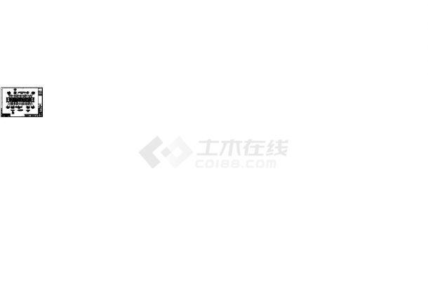 滁州某小区住宅楼标准平面设计图CAD图纸(2梯8户/80x4+85x2+84x2)-图一